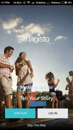 magisto movie maker