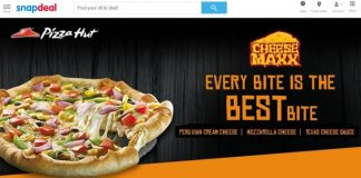 snapdeal buy pizza online with discount