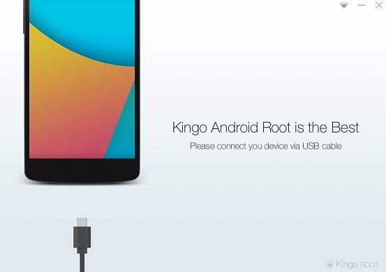 Kingo root review : root Android from PC