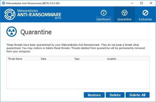 Mbar Quarantine Ransomware
