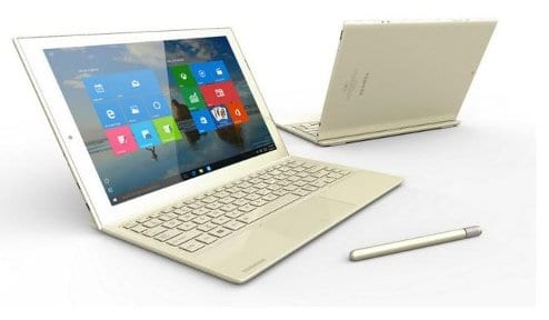 Toshiba Dynapad 2 in 1 Windows 10 tablet