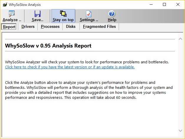 WhySoSlow analysis