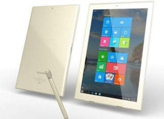 dynapad Toshiba tablet for Business
