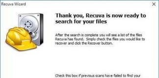 recuva review free data recovery software