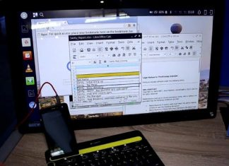 Intel Concept mobile phone Microsoft Continuum Alternative