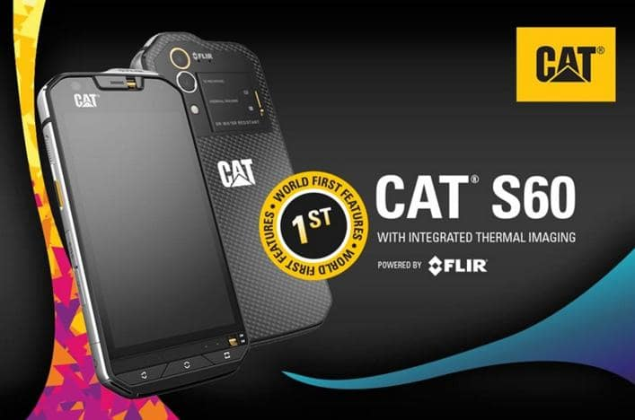 cat s60 : rugged phone with longest battery life