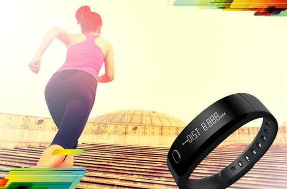 intex fitwrist step tracker