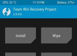 twrp 3.0 interface