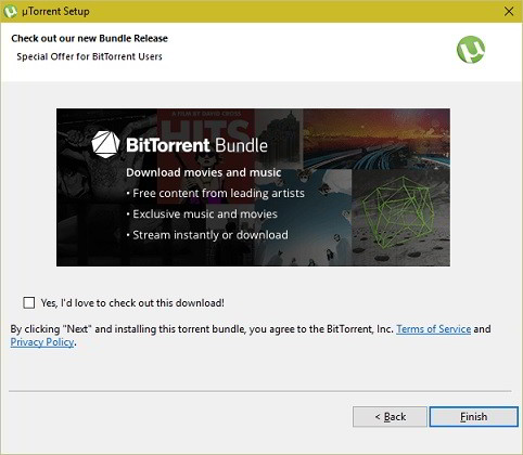 block utorrent bundle