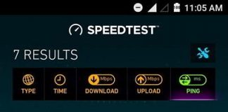 DL GTPL internet speed test