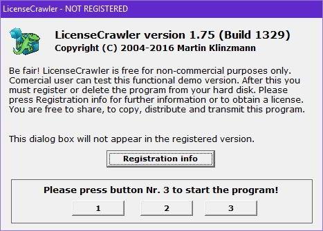 license crawler download
