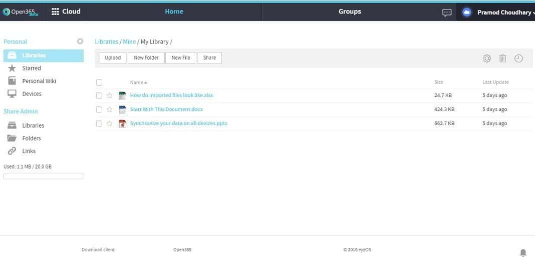 open365 library google docs alternative