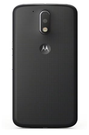 Moto G4 plus back