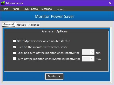 mpowersaver energy saver windows download