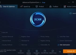 Advanced system care clean and optimize