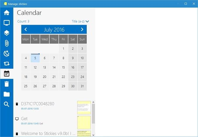 Download Stickies sticky notes app calendar