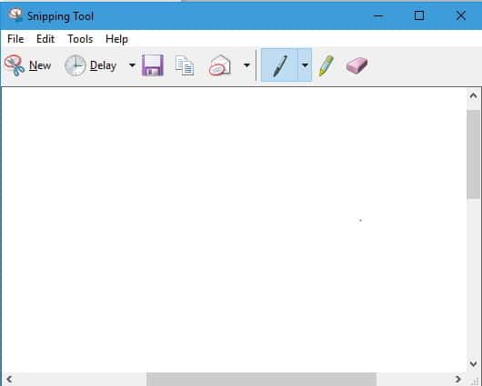 Windows Snipping tool : free screen capture utility