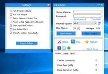 wifi share mhotspot setup hotspot for Windows