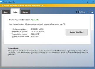 Fix windows defender update