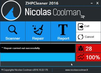 zhpcleaner free malware adware remover for Windows