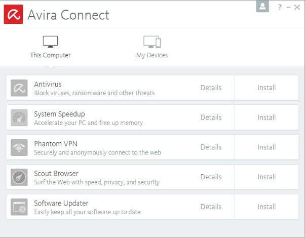 Download avira free security suite 2017 review