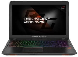 Asus ROG GL553VE - best i7 laptop in India