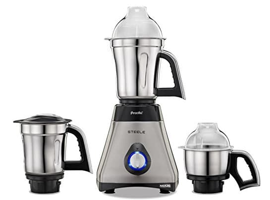 preethi max steel - best mixer grinders under 5000 Rs