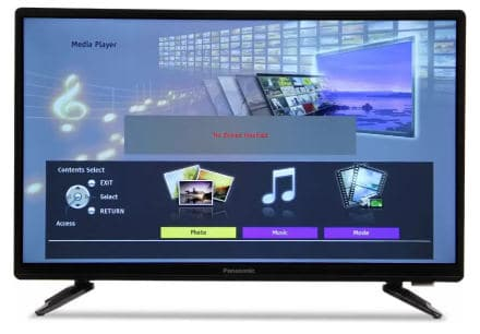 Pansonic TH-22D400DX - best LED TV under 10000 in India