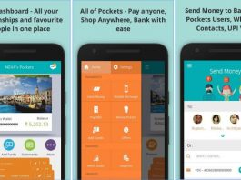 icici pockets - best wallet apps in India for Android