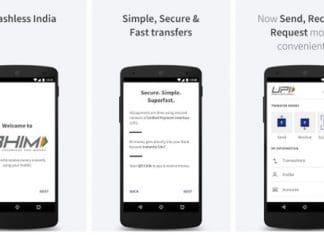 BHIM vs PayTM app