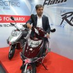 Hero Flash Electric Scooter Price 19990 Rs travels 65 KM on single charge