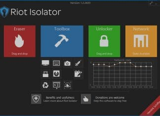 Riot Isolator free security tool for Windows