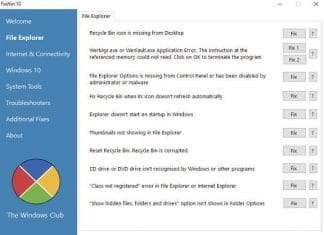 FixWin - best Windows repair software