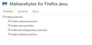 MalwareBytes Firefox Extension