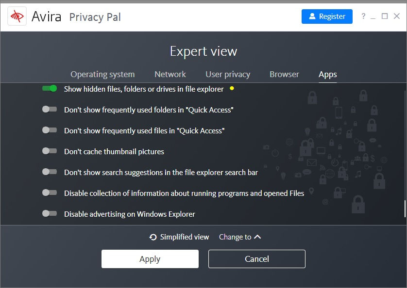 Avira Privacy Pal expert view
