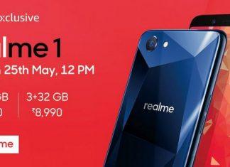 Oppo RealMe 1 phone